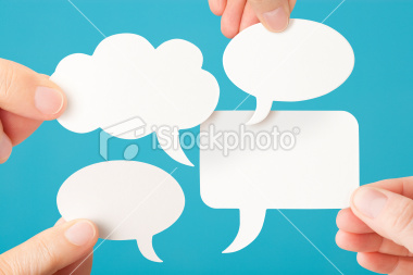 stock-photo-19694628-four-blank-white-conversation-speech-bubbles